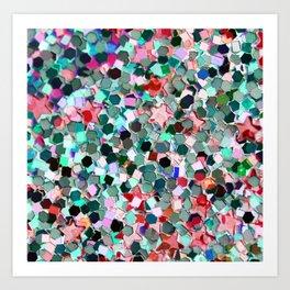Colorful Sparkles Kunstdrucke