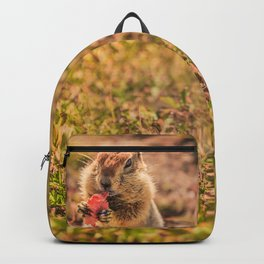 Have a smile for breakfast Backpack