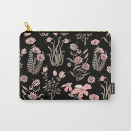 PINK FLOWER AT NIGTH Carry-All Pouch