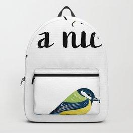 A nice pair - Bird watching xmas Gift Backpack