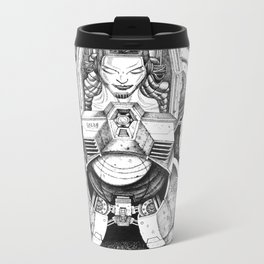 Battle Angel Metal Travel Mug