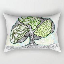 Moirai: Clotho, Lachesis & Atropos Rectangular Pillow