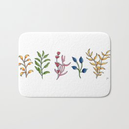 Botanical Bath Mat