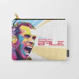 Gareth Bale in Colorful WPAP Carry-All Pouch