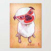 diablo Canvas Prints featuring El Diablo by rubbishmonkey