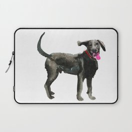 watercolor dog vol 16 silver labrador Laptop Sleeve