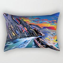 american landscape 8 Rectangular Pillow