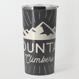 Retro Mountains Travel Mug