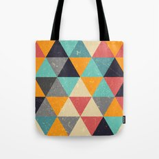 Trianglify Tote Bag