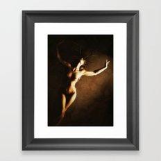 Dusk of Hallows Framed Art Print
