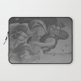 Black White Angels Laptop Sleeve