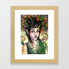 Poison Pixie Framed Art Print