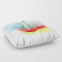 Sweet Cherry Floor Pillow