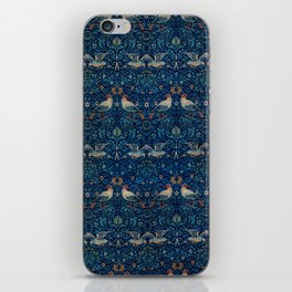 "William Morris ""Bird"" iPhone Skin"
