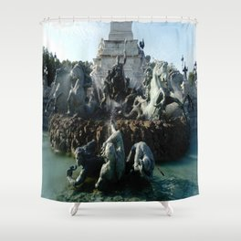 Monument aux girondins 3 Shower Curtain