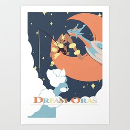 Dream Oras Art Print