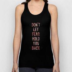 Don't Let Fear Unisex Tank Top