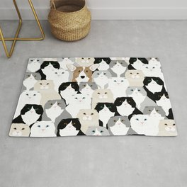 Cats and Dog Rug