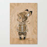 mouse Canvas Prints featuring Mouse by Freeminds