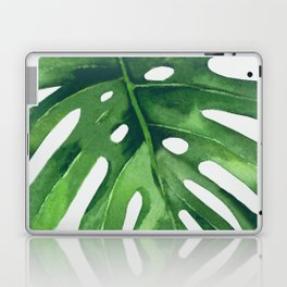 Monstera Leaf Laptop & iPad Skin
