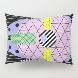 Millennium Falcon Geometric Style - Pastel, abstract design Pillow Sham