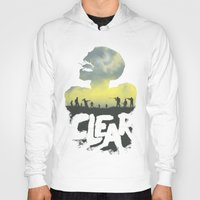 clear Hoodies featuring CLEAR by Kidney Theft