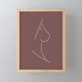 Naked Woman No.3 Framed Mini Art Print