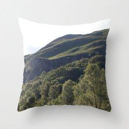 The Trossachs Throw Pillow