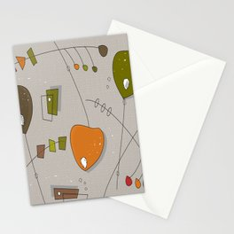 Bouncing Mobiles Stationery Cards