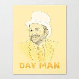 Day Man Canvas Print