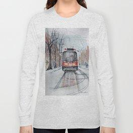 The 501 Neville Park Streetcar Long Sleeve T-shirt
