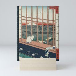 Asakusa Rice Fields, Hiroshige Mini Art Print