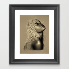 Wash this away Framed Art Print