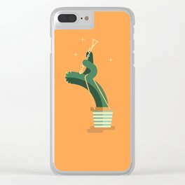 CACTUS BAND / The Clarinet Clear iPhone Case