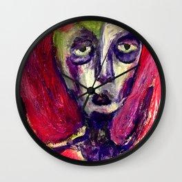 Her Moss. Wall Clock