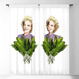 Rose the Golden Girl Blackout Curtain