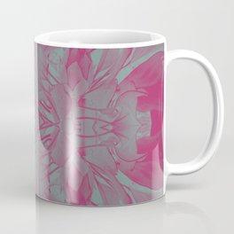 Feminine Devine in Fuchsia Pink and Powder Mint Coffee Mug