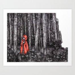 Fear's Uncloaking Art Print