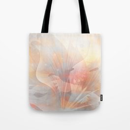 Floral Astract Tote Bag