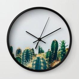 cactus sea Wall Clock