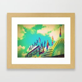 Magic Maze At the Fair Framed Art Print