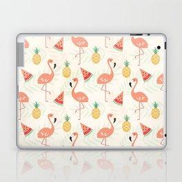 Watermelon Flamingo Pineapple Laptop & iPad Skin