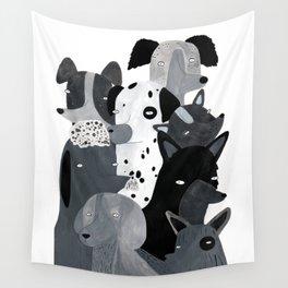 Los perritos Wall Tapestry