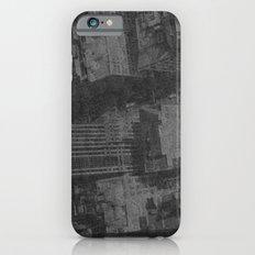 New York on Flowers iPhone 6s Slim Case