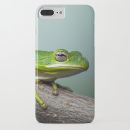 Green Tree Frog. iPhone Case