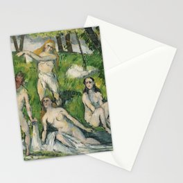 Four Women Bathers (1878-1879) Stationery Cards