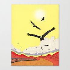 Leaving Texas Canvas Print