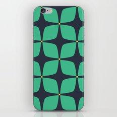 Jasmine Blue iPhone & iPod Skin