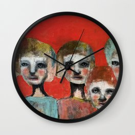 Next of kin Wall Clock