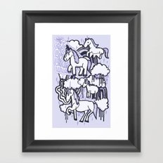 They Exist! Framed Art Print
